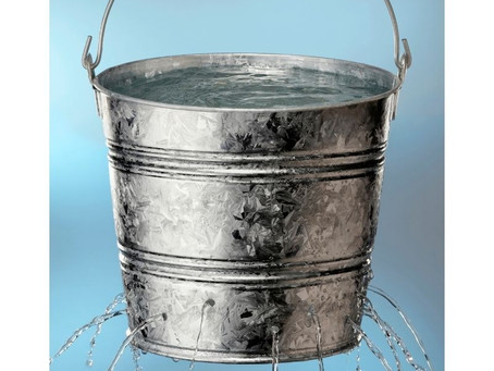 Want To Know A Key To Maintain Brain Health? (Or- How To Fill Your Leaky Bucket)