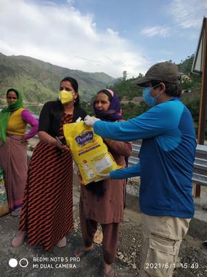 Covid Relief Uttarakhand