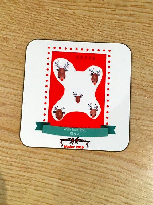 2 x Personalised Coasters