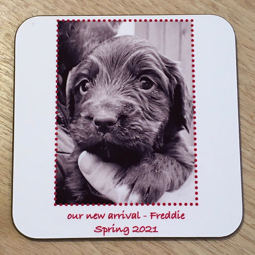 2 x Personalised Coasters - d