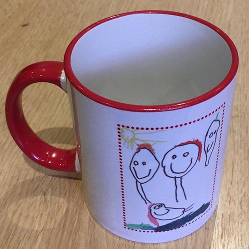 Personalised mug - d
