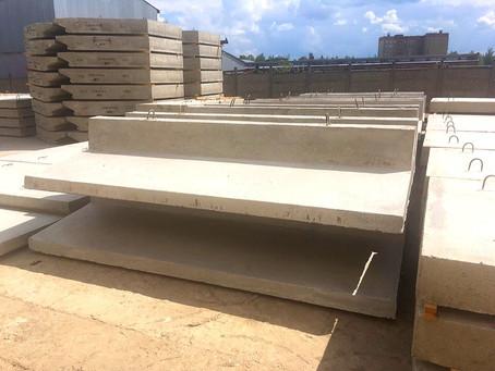 Запущено производство сборных железобетонных подпорных стен