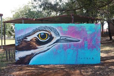 curlew bird / wellington point school