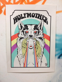 wolfmother tour poster