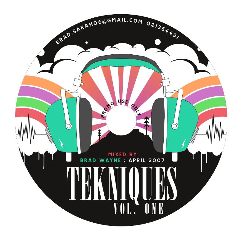 brad techniques promo cd