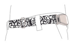 CONTAINED belt design