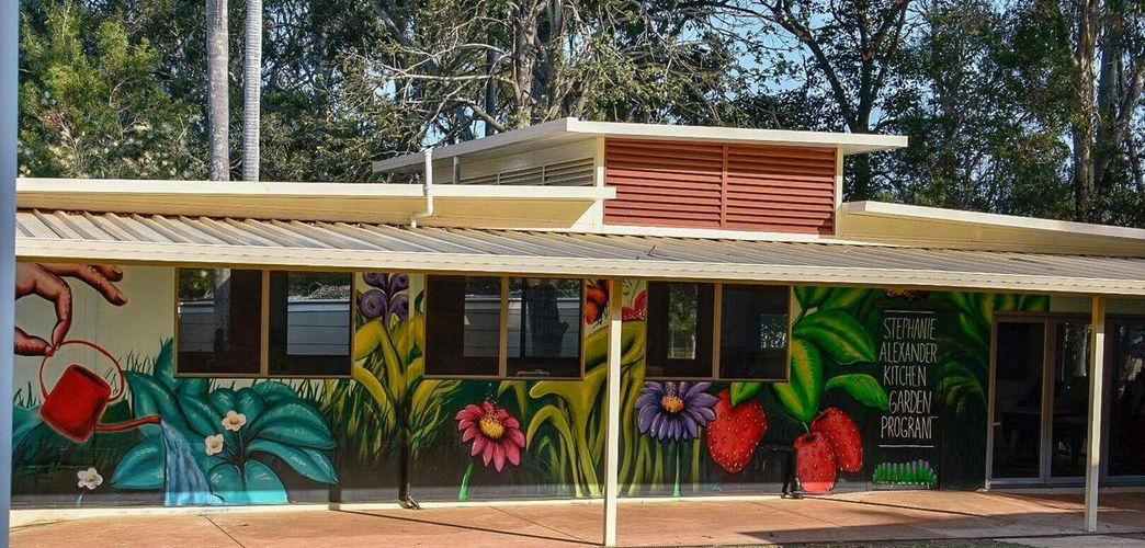 stephanie alexander kitchen garden mural