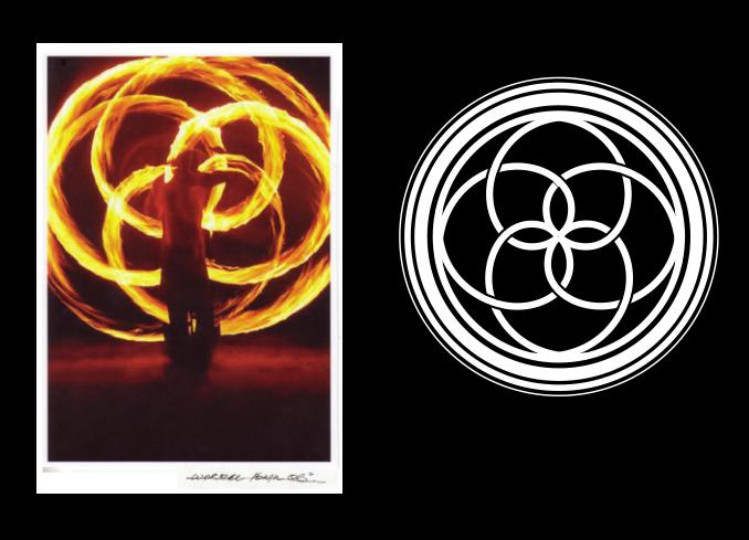 worzel logo // inspired by his fire