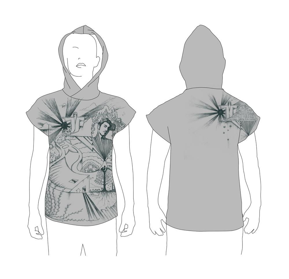 RIO NIGHTS hoodie design
