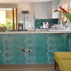 custom kitchen panels
