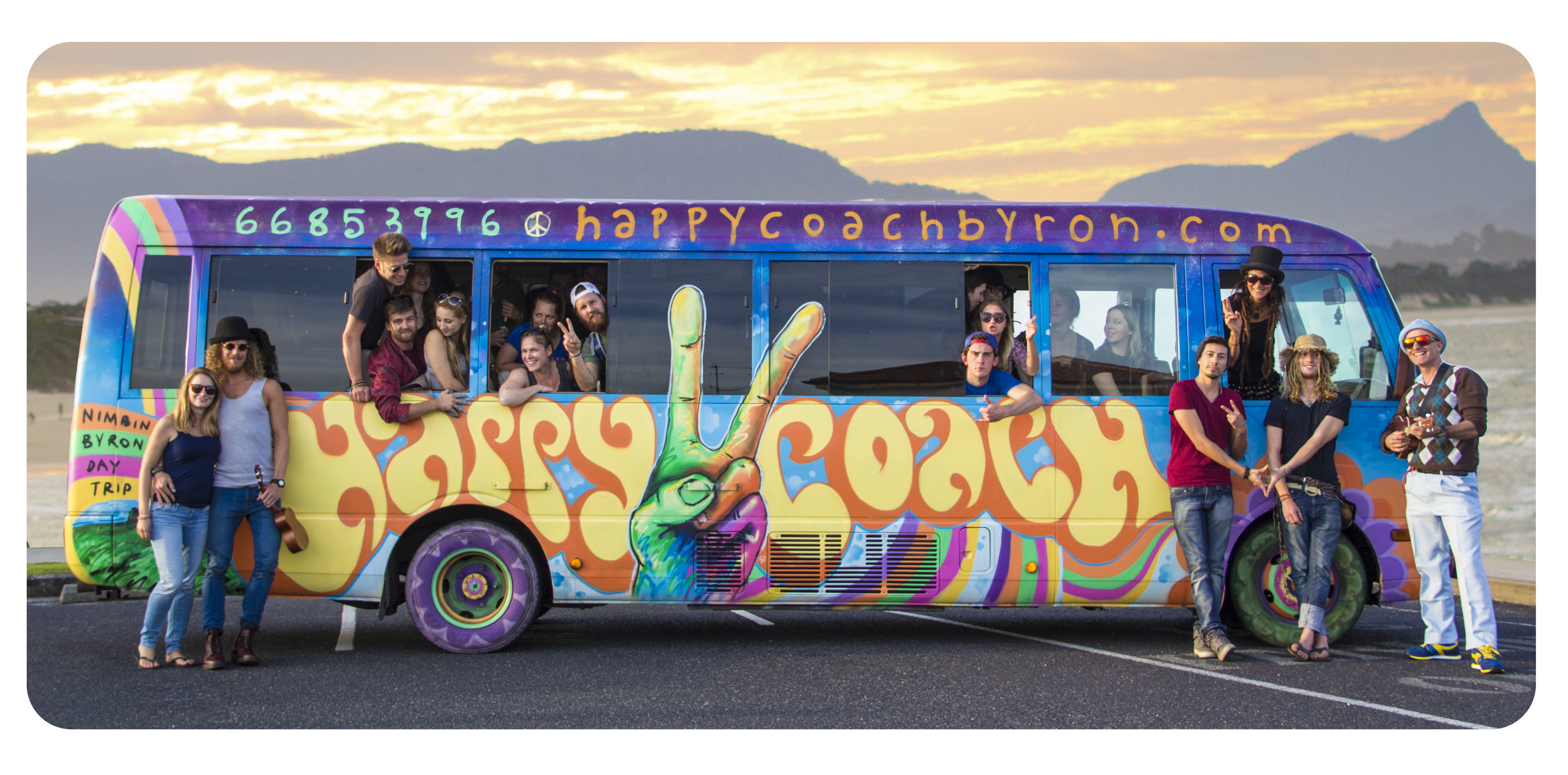 NIMBIN HAPPY COACH