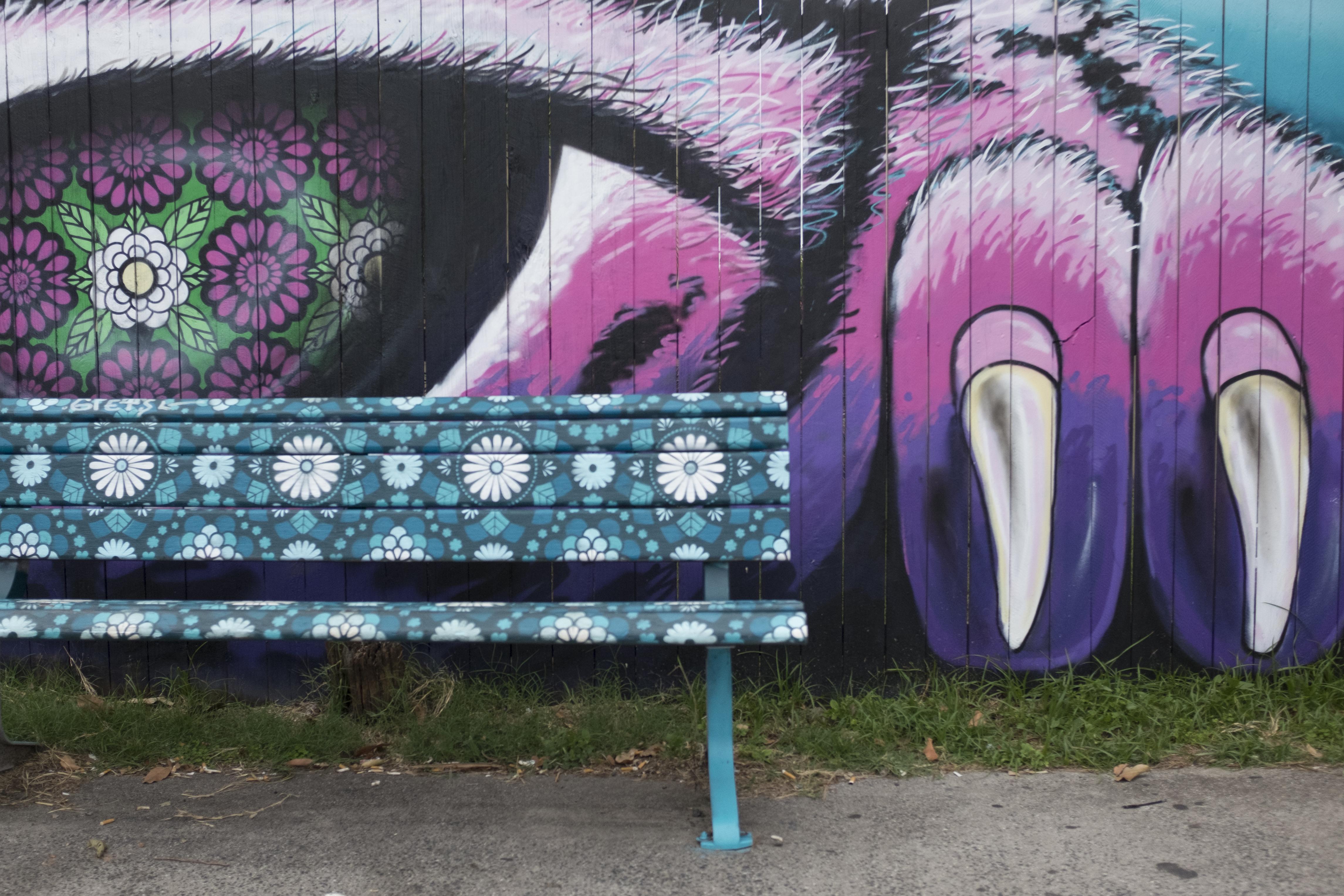 stencil art print street