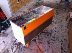 upcycled radio gram