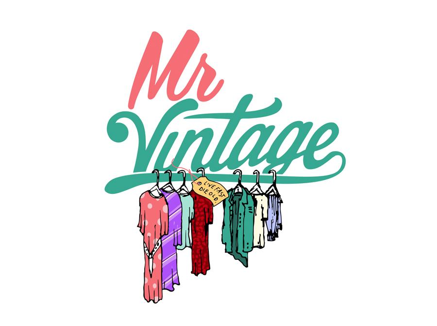 mr vintage logo