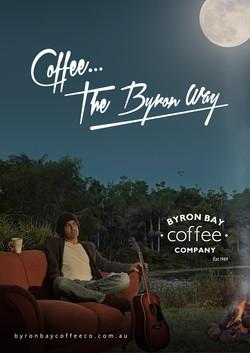 byron bay coffee co advertising