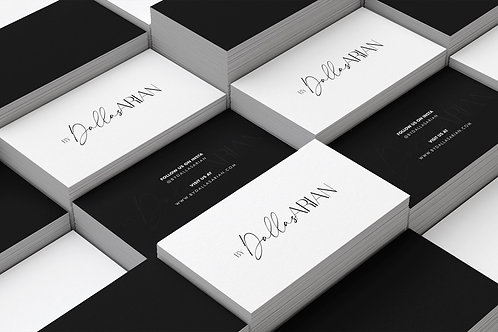 Business or Thank-you card Design | Design Only
