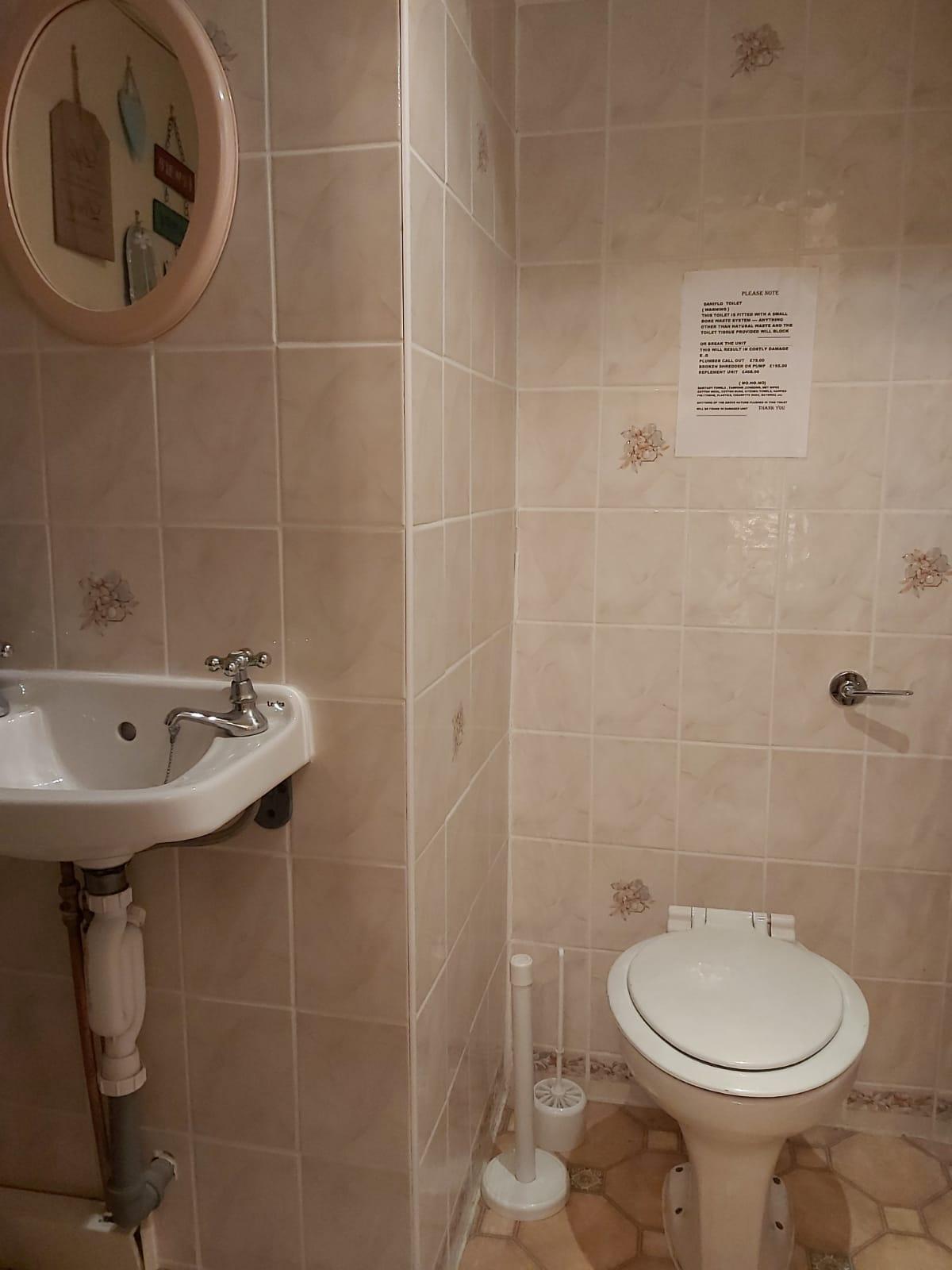 bar toilet