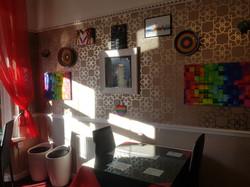 Dining room 5 f wall