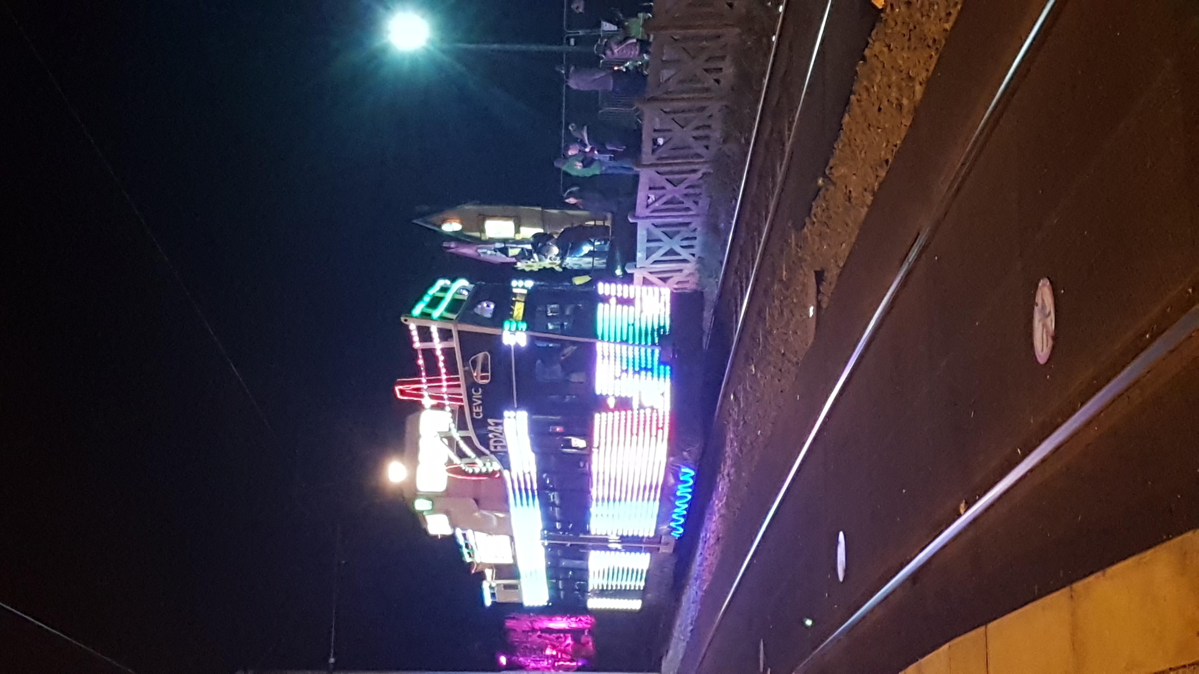 LED tram