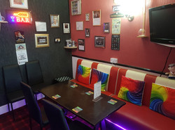 Bar 1 seating
