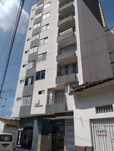 Se Arrienda Apartamento en el Ed Urbano 24 Centro Cod-80091