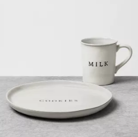 Milk and Cookie Plate
