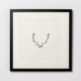 Framed Wall Antlers