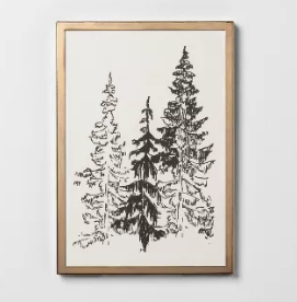 Framed Art Trees 8x11'' - Hearth & Hand™ with Magnolia