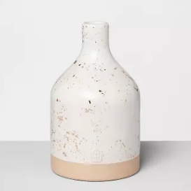 Jug Vase Speckled - White - Hearth & Hand™ with Magnolia