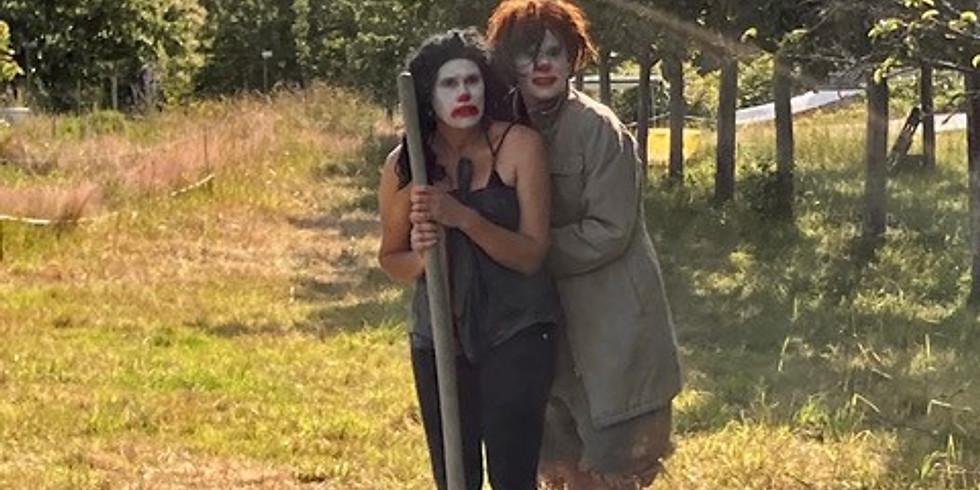 """Spectacle de clowns """"Au fond du trou"""" par Les Semeuses à 16 heures (gratuit) - Mise en scène : Amy Coetzer"""