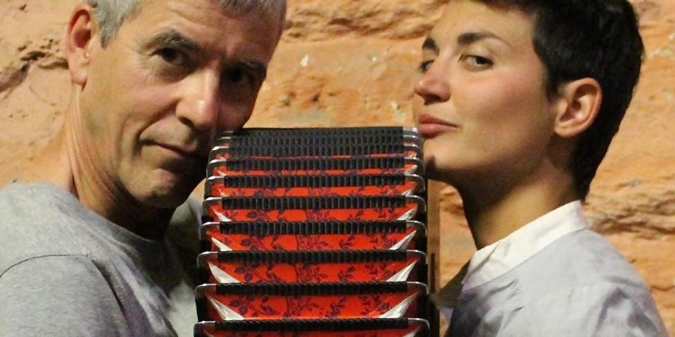 Spectacle Aérocéphale avec Alice Poulouin et Yann Bouillon à 16 heures - gratuit