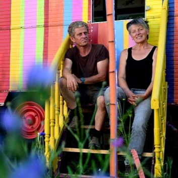 Christine et Luc des Jardins Rocambole