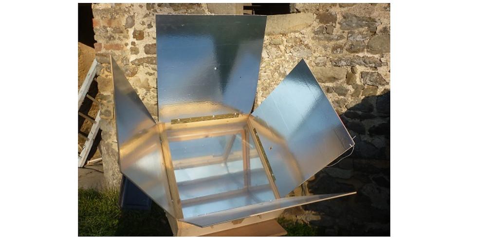 Fabrication d'un four solaire avec Paul Perrigault