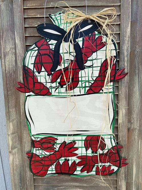 Crawfish Sack Door Hanger