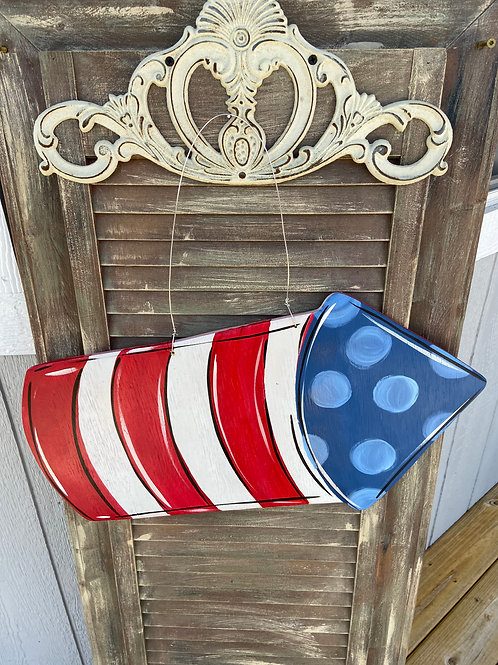 Firecracker Door Hanger