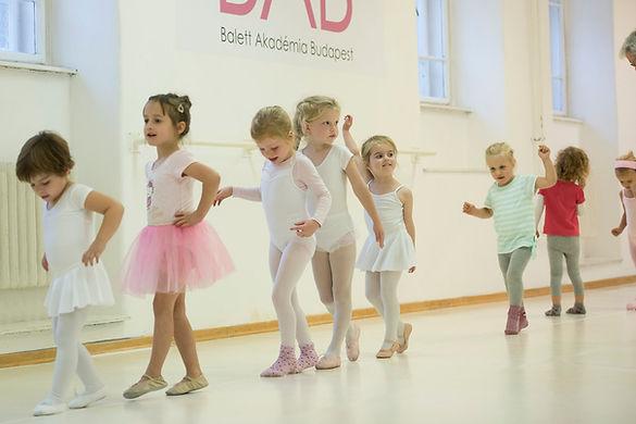 Gyermek balett órák