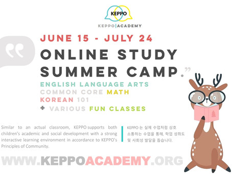 KEPPO ACADEMY ONLINE STUDY SUMMER CAMP