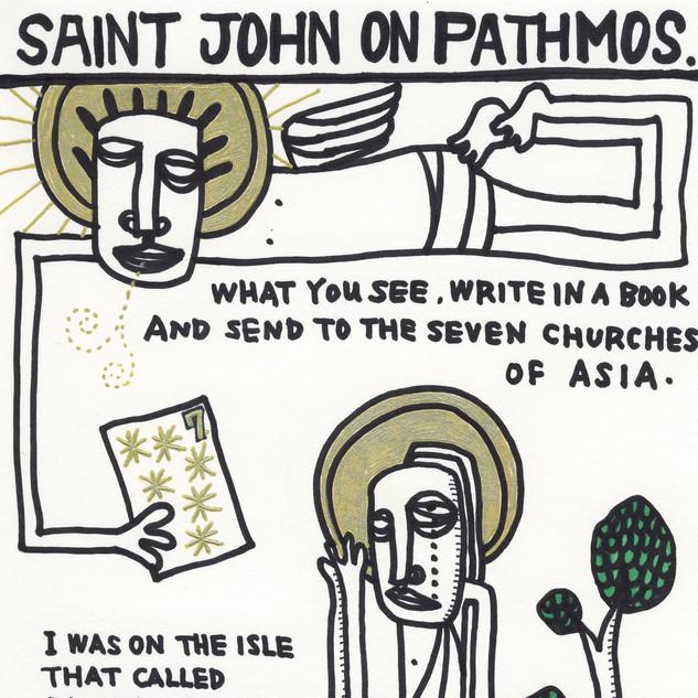 パトモス島のヨハネ
