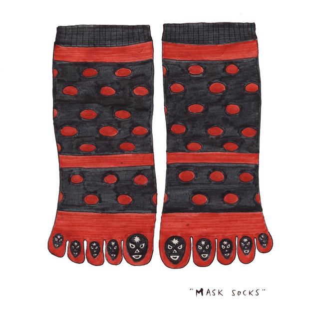 Mexican mask socks