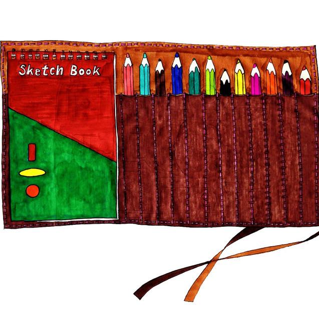 Skechbook set