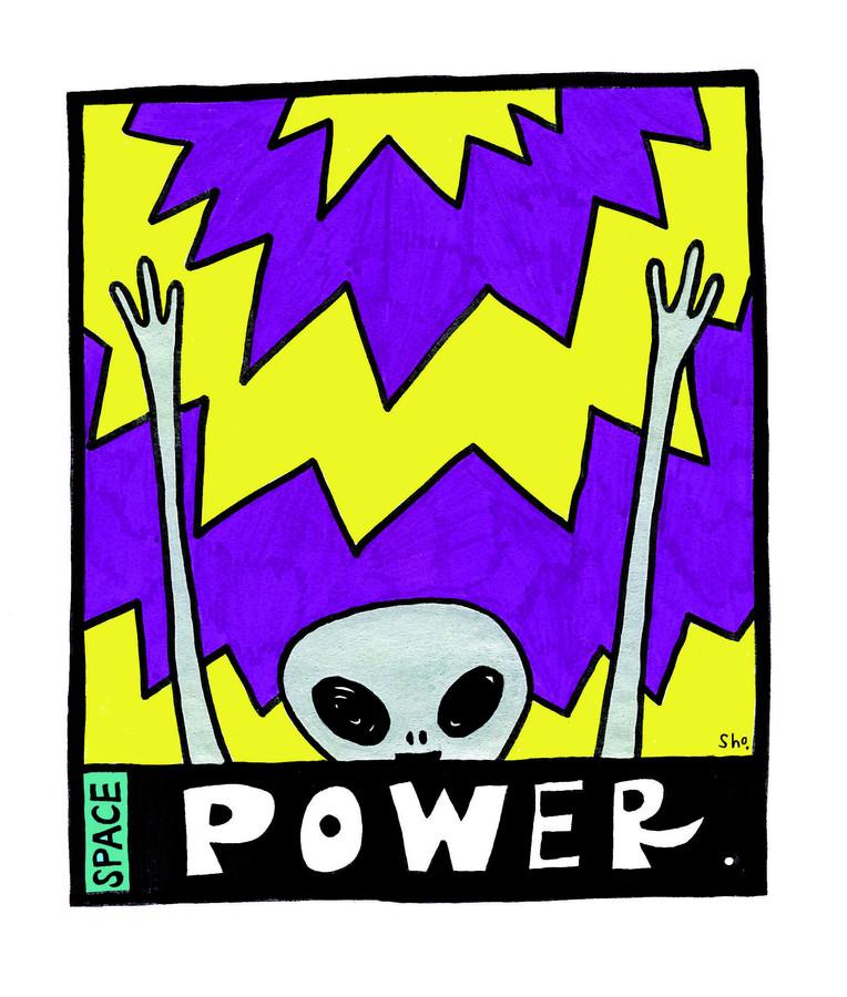 宇宙パワーをうけとる!