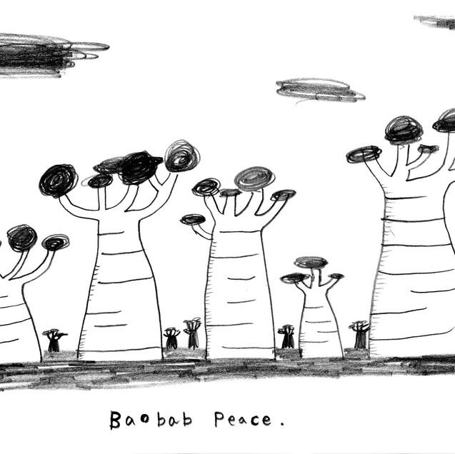 Baobab Peace Love