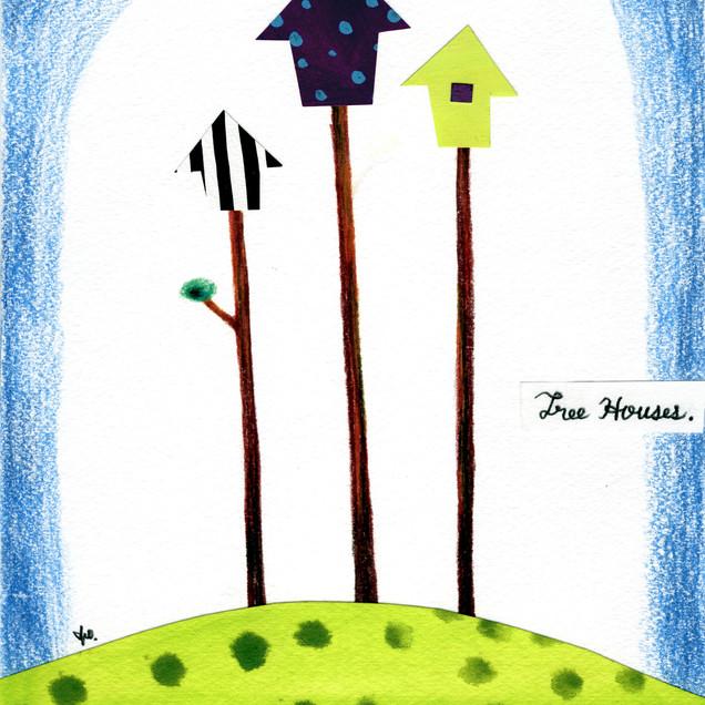 3 Tree Houses