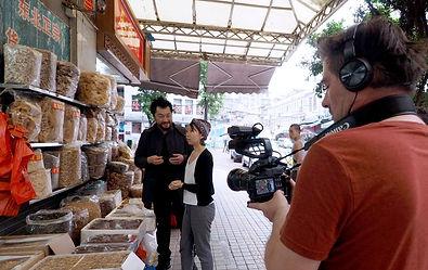 Gwénolé Livinec - tournage en Chine