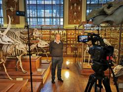 Tournage Muséum d'histoire naturelle