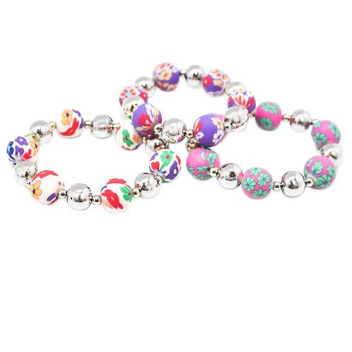 Flower Starlet Shimmer Bracelets