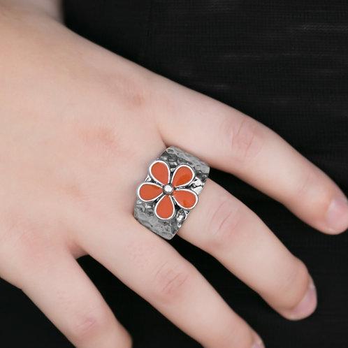 Flower Patrol Orange