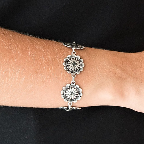 Funky Flower Child Silver