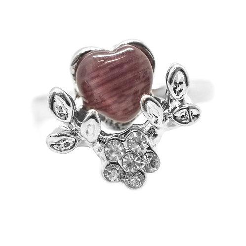 Heart Starlet Shimmer Rings