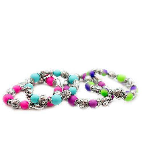 Heart Starlet Shimmer Bracelets